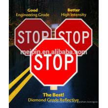 Rollos de laminado reflectantes adhesivos imprimibles / material de señal de tráfico reflectante
