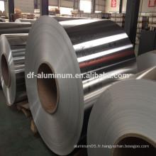 Fabrication en Chine de feuille d'aluminium non lubrifié à vendre