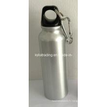 Bouteilles en aluminium de boisson de poussée de 500ml