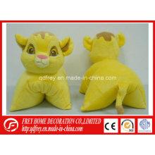 Regalo suave de la promoción de la almohadilla del juguete del tigre de la felpa