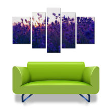 Lila Lavendel Wand hängendes Bild