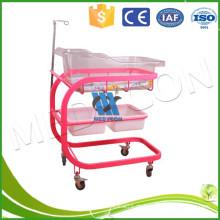Mobile Babybett mit vier flexiblen Rollen