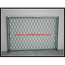 clôture de maille de fil de rasoir de diamant de sécurité