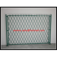 security diamond razor wire mesh fence