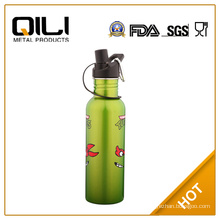 750ml customized reusable water bottle