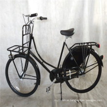 """Black Color 28""""Traditional Classic 3 Speed Dutch Oma Ladies Bike"""
