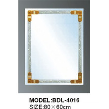5mm Thickness Bathroom Silver Glass Mirror (BDL-4016)