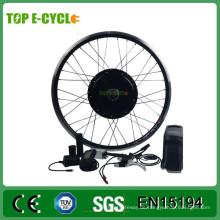 Einfaches Zusammenbauen des Fahrrades der Rückseiten- / Frontseite Fahrrad-Bescheinigung ebike Umbauinstallationssatz mit Batterie