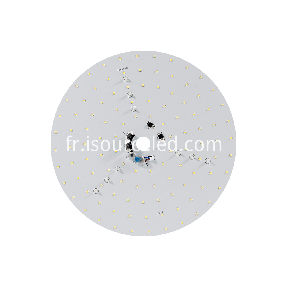 The front of 220v smd 2835 Round AC LED Module