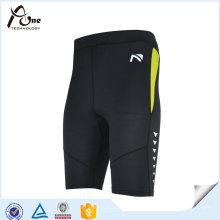 Athletic Apparel Manufacturer Personalizar Compressão Running Shorts