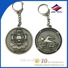 Andenken-Metall Keychain Kundenspezifisches geformtes Metall Keychain