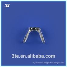 Bridge nose pads for eyeglasses