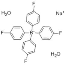 Borate(1-),tetrakis(4-fluorophenyl)-, sodium, dihydrate (9CI) CAS 207683-22-5