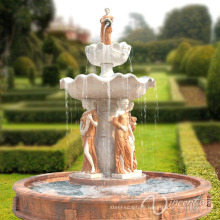 China factory supply stone garden product marble italian garden fountain for sale