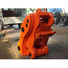 Loader Hydraulic Quick Hitch / Coupler Construction Excavator Spare Parts
