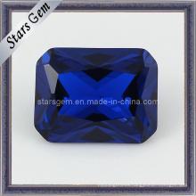 Forma de rectángulo de calidad superior 34 # Sapphire Corindón