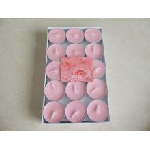 Набор из 15 розовых свечей соевого чайника
