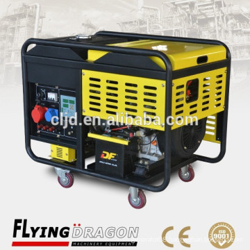 small little facilities use 9 kw super cheap portable electro generator for sale with air cooled system