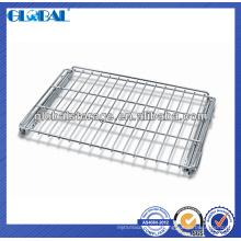 Decking de fil d'entrepôt (paquet d'exportation) / rayonnage de fil