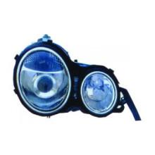 Lâmpada de cabeça automática para Benz W210 '95 -'98 (CRYSTAL) Branco (LS-BL-059)