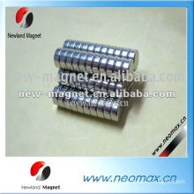 Sintered neodymium small thin round magnet