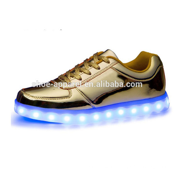 nouveaux hommes LED lumières chaussures sneaker chaussures LED sport chaussure
