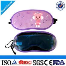 Großhandelsgewohnheit gedruckte Augenmaske-Augenbinden für das Schlafen