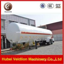 Reboque tanque de GLP de 2 eixos / Semi-reboque tanque com capacidade de 40cbm