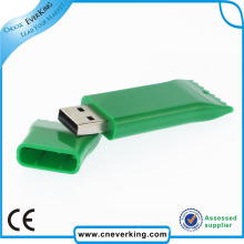 Funny New Design Luxury No Encryption PVC USB