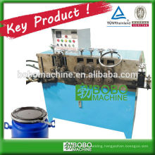 AUTOMATIC BUCKET BARREL HOOP ROLL FORMING MACHINE
