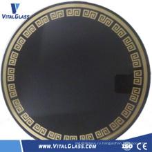 Черное керамическое стекло / камин Керамическое стекло / индукционная плита Керамическое стекло
