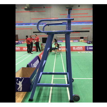 Indoor Movable wasit Badminton Umpire Chair