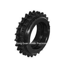 Polea de rueda dentada de doble paso de fabricación de alta calidad