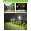 LED streetlight CE led solar street light with PIR motion Sensor, outdoor solar led light