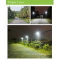 LED streetlight CE led solar street light with PIR motion Sensor, outdoor solar led light