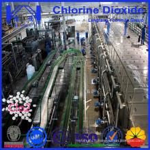 Dioxyde de chlore certifié de qualité alimentaire pour traitement de l'eau potable