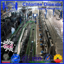 Food Grade Certified Chlorine Dioxide for Potable Water Treatment
