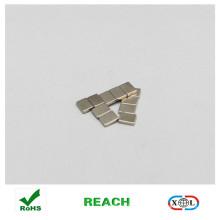 Nickel-Beschichtung Block Magnet Knopf für Kleidung