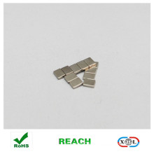 nickle coating block magnet button for clothes