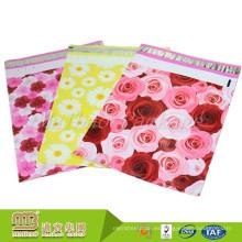 Paquete de 100 diferentes tamaños 10X13 pulgadas 2.5Mil Pdf aceptan el anuncio publicitario modelado Rose personalizado