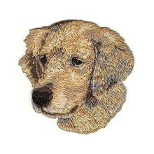 Golden Retriever hondenras borduurwerk patch applique