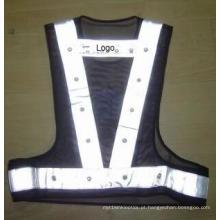 Colete refletor LED de moda