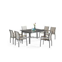 Ensemble de salle à manger en plein air Textilene