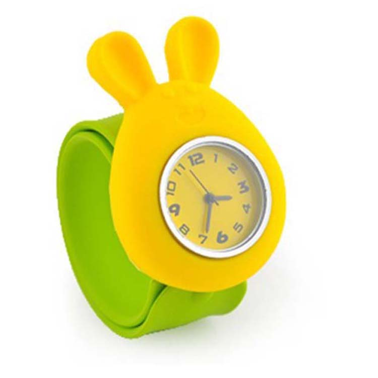 Kids Reloj Children Kangaroo Cartoon Slap Watches