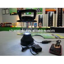 Lanterna solar com 12 LEDs, lanterna solar de alta qualidade para camping, farol solar preço de fábrica