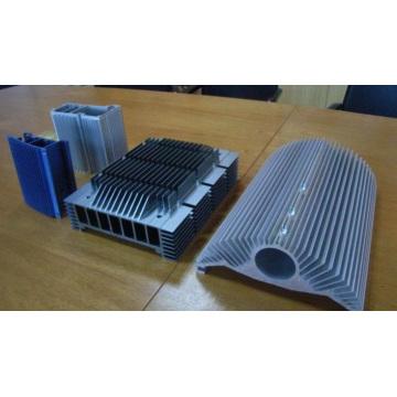 CNC mecanizado de aluminio disipador de calor en China