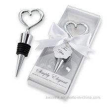 Favor de mariage populaire, cadeau de mariage, bouchon de bouteille en métal, bouchon de vin