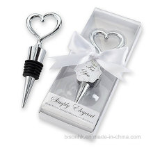 Popular Wedding Favor, Wedding Gift, Metal Bottle Stopper, Wine Stopper