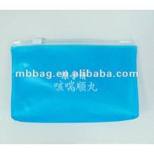 logotipo de geada impresso eco-friendly die cut organza bag
