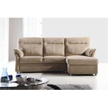 Мебель современного дизайна с тканевым диваном-кроватью (722)